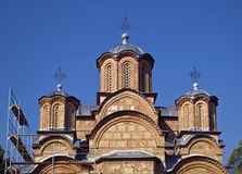 Serbian orthodox monastery, Gracanica, Kosovo Royalty Free Stock Photo