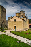 Serbian orthodox Monastery Manasija Royalty Free Stock Photography