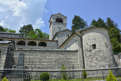 Serbian Orthodox Monastery Royalty Free Stock Photo