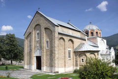 Serbian orthodox monastery Studenica Stock Photography
