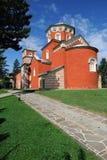 Serbian Orthodox Monastery Zica royalty free stock image