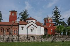 Serbian Orthodox Monastery Zica. Kraljevo stock photography