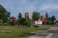 Serbian Orthodox Monastery Zica. Kraljevo Royalty Free Stock Photos