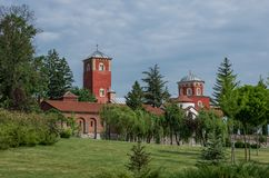 Serbian Orthodox Monastery Zica. Kraljevo Royalty Free Stock Photography