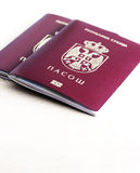 Serbian passport Royalty Free Stock Image