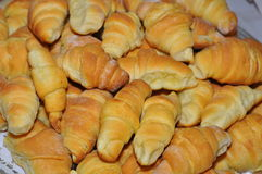 Serbian Pastry - Kiflice. Serbian stile pastries -  Domace kiflice Stock Images
