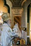 Serbian Patriarch Irinej Stock Images