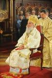 Serbian Patriarch Irinej. In church in the Sremski Karlovci town stock photography