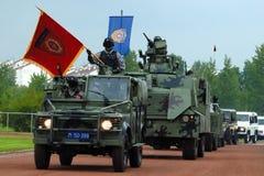 Serbian police combat unit-1 Stock Photos