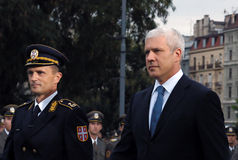Serbian president B.Tadic Stock Photos