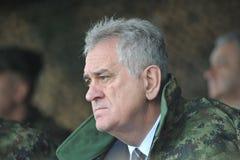Serbian President Tomislav Nikolic Stock Images
