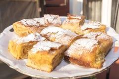 Serbian pumpkin pie Stock Photo