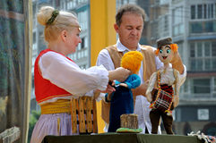 Serbian Puppet Show Stock Photos