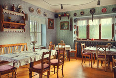 Serbian Restaurant Stock Photos