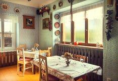Serbian Restaurant Stock Image