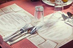 Serbian Restaurant Royalty Free Stock Photo