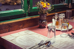 Serbian Restaurant Royalty Free Stock Images