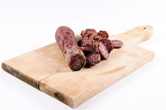 Serbian sausage Royalty Free Stock Photo