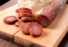 Serbian sausage Royalty Free Stock Photos