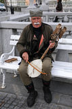 Serbian traditional musician Stock Image