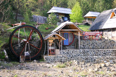 Serbian village Stock Photography