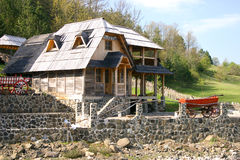 Serbian village Stock Images