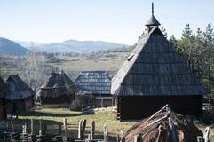 Serbian village Stock Photos