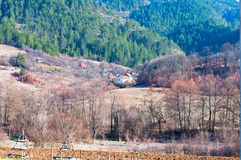 Serbian villages Stock Photography