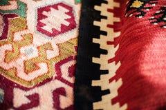 Serbian Vintage Blanket Stock Photo