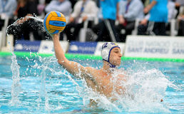 Serbian waterpolo player Marko Petkovic Royalty Free Stock Photography