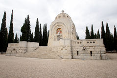 Serbian World War One Military Cemetery Royalty Free Stock Images
