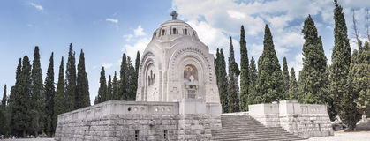 Serbian World War One Military Cemetery, Thessaloniki Royalty Free Stock Image