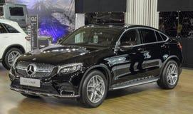 Serbien; Belgrad; Am 29. März 2017; Schwarzes Mercedes-Benz-GLC Coupé; Lizenzfreie Stockbilder
