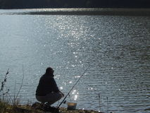 Serbien sjö Arkivfoto
