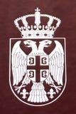 Serbien-Symbolabgabe stockfotografie