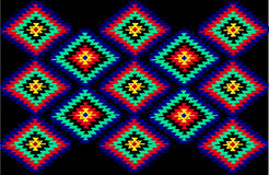 Serbische traditionelle Teppichbeschaffenheiten Lizenzfreies Stockbild