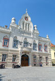 Serbischer orthodoxer episkopaler Palast in Timisoara, Rumänien lizenzfreie stockfotografie