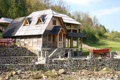 Serbisches Dorf Stockbilder