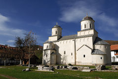Serbisches orthodoxes Kloster Mileseva Lizenzfreies Stockfoto