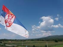 Serbisk himmel - Smederevo royaltyfria bilder