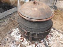 Serbisk keramisk krukmakeri Arkivfoton