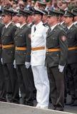 serbiska nya tjänstemän 1 Royaltyfri Foto