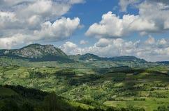 Serbiskt landskap royaltyfria foton
