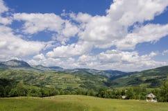Serbiskt landskap Arkivbild
