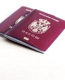 Serbiskt pass Royaltyfri Bild