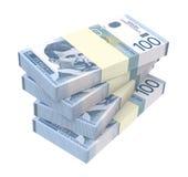 Serbski dinar odizolowywający na białym tle Obraz Royalty Free