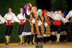 Serbski tana występ obrazy royalty free