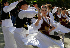 Serbski taniec 3 Zdjęcie Stock