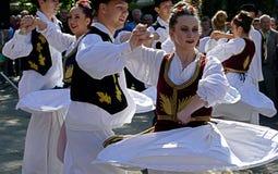 Serbski taniec Zdjęcia Stock