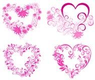 serc ilustracyjny valentines wektor ilustracja wektor